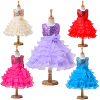 baby satin shipping - Retail New Kids baby Children s dresses Girls Princess Dress Polka Dots Bohemia Casual dress Dress