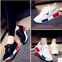 Wholesale Hot Sale Originals boost NMD XR1 Primeknit TRIPLE WHITE Black Men Women Running Shoes Sports Shoes Size EUR