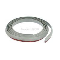 automobile door edge guards - 1 M Gray Rubber Adhesive Car Door Edge Guard Trim Strip Piece automobile motor mm mm mm D W L Discount