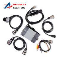 Wholesale Hot Sale Professional MB STAR C3 mb star c3 diagnosis multiplexer mb star c3 professionals tools without HDD DHL