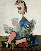 art cubism - GIRL WITH COCK by PICASSO Pure Handicrafts FABULOUS CUBISM COLOR ART oil painting On High Quality Canvas any customized size Available