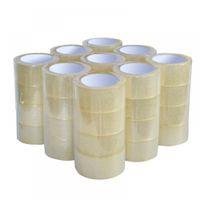 venda por atacado elastic tape-36 Rolls 36PCS / LOT Clara Embalagem Caixa Selagem Adesiva Fita Adesiva Adesiva Elástica Cohesive Tape 2