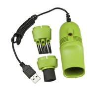 Wholesale 1pcs Keyboard Cleaner USB Mini Vacuum Dust Machine For Computer Laptop PC Hot Worldwide