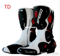 Wholesale Motorcycle Boots Men Motocross Shoes Racing Speed boot Moto Botas Probiker Riding Motorcycl Boots PB OT MR TD