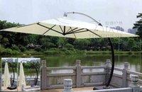 aluminum garden parasol umbrella - 3 meter aluminum deluxe outdoor patio sun umbrella garden parasol sunshade furniture covers with wheels for Christmas