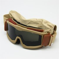 arm frame - Ballistic Lens Alpha Military Goggles for Men ESS Tactical Army Sunglasses Anti fog Helmet Goggles Outdoor Armed Glasses