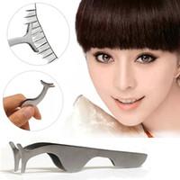 Wholesale 2016 Hot Beauty Tool Eyelash Curler False Eyelashes Extension Applicator Remover Clip Tweezer Nipper