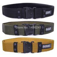 alloy services - CQB Adjustable Mens Army Military Tactical Belt Blackhawk Outdoor Heavy Duty Combat Service Belts