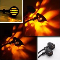 Wholesale 12V W Motorcycle Light Front Rear Turn Signals Indicators Lights For Harley