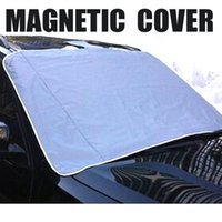 auto window blinds - MAGNETIC Auto Snow Cover Car Windshield Windscreen Shade Sunshade Sun Visor Blind Front Window Screen Ice Frost Protector