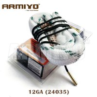 Wholesale Armiyo Hoppe s Boresnake Bore Snake Brass Wire Shotgun Barrel Cleaner GA Gauge Hunting
