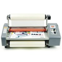 Wholesale 335mm A3 V Laminator Four Rollers Hot Roll Laminating Machine Adjust Speed
