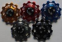 applied bearing - Brand New GUB JY G22C Anodised CNC Ceramic Sealed Bearing Jockey Wheels t Apply Shimano SRAM
