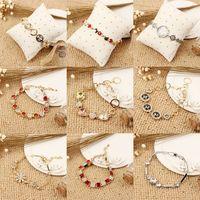 best diamond prices - Hot Sale Korean Bracelet never change color Fashion Beautiful Bracelet Alloy with Diamond Bracelet Best Price