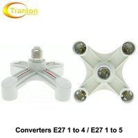 Wholesale Lamp Holder Converters E27 to to Lamp Base for AC V Bulbs