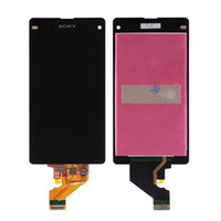 Wholesale For Sony Xperia Z3 Z5 compact mini LCD display touch screen digitizer Replacement Black for Z M4 E4 M5 Z2 Z1