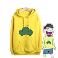 Cheap Wholesale-2016 New Anime Osomatsu-san Cosplay Costume Osomatsu San Juushimatsu Ichimatsu Karamatsu Todomatsu Hoodie Men Hoody Sweatshirt