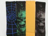 Wholesale hot selling US skull in green gray purple blue Titanium Baseball Compression Arm Sleeve