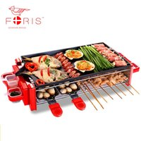 Wholesale Smoke free non stick barbecue machine domestic electric oven Electric Griddles