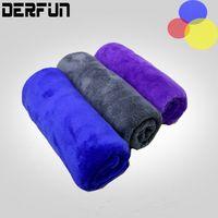 Wholesale 30 cm x cm Microfiber Car Cleaning Towel Microfibre Detailing Polishing Scrubing Waxing Cloth Hand Towel g Chenille