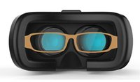Wholesale New VR Box upgrated Version Virtual Reality Glasses Variable focal length head mounted magic glass Cardboard D Movie for smart phones
