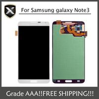 Cheap Original Grade AAA+ For Samsung Galaxy Note3 N900 N9005 N900K N900L N900S N900A N900T N900V Lcd Display With Touch Screen&Free Shipping