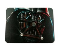 Wholesale Mask Mouse Pad Darth Vader Mouse Pad Star Wars Geometric Stormtrooper News Sell New Small Size Mouse Pad Non Skid Rubber Pad