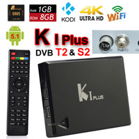 android satellite receiver - KI Plus DVB S2 T2 Android TV Box Amlogic S905 Quad Core G G Mini PC Satellite Receiver KODI Wifi D Movie K K H Media Player