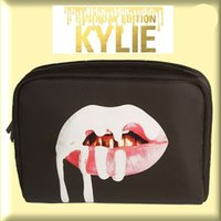 Wholesale Kylie Brithday Edition Cosmetics Makeup Bag Bundle Bronze Kyliner Makeup Bag kylie Lip Kit Bag Copper Cream Shadow DHL Free