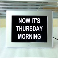 Wholesale 2016 Best New Product Traditional Design Led Digital Calendar Day Clock For Dementia Elderly Seniors