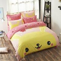 Wholesale DHL OR FEDEX Poke Sheets Comfort Cartoon Poke Animal Bedding Set Kids Bedroom Poke Duvet Cover