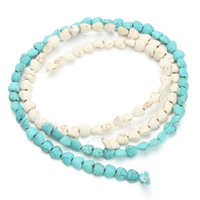 Wholesale Approx pack cm cm Heart Seed Beads Blue White Turquoise Beads Loose Stone F1287