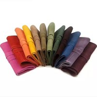 Wholesale Genius Leather Grooming Sheer Bag Fashion Colors Sheer Bags Deisign For Professional Pet Groomers Leather Case For Sheer inch to inch