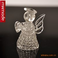 angels at home - 1604 Christmas angel crystal glass crystal clear glass crafts jewelry at home