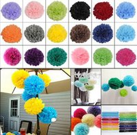 basket ball baby - New DIY Handmade pom poms Wedding Paper Flowers Ball Pom Poms For Wedding Home Baby Shower Decoration quot quot quot quot quot quot quot SIZE CC650