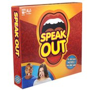 Wholesale 1set Dropshipping Speak Out Games Ridiculous Mouthpiece Challenge Game game for your mouthpiece with paper cards