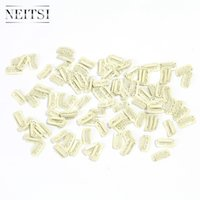 Wholesale Neitsi Blonde Size cm cm cm Optional Metal Hair Snap Clips for Hair Extensons Metal Clip in Hair Extensions Hair Tools