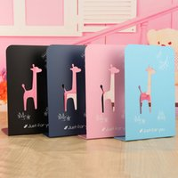 Wholesale Stationery cartoon style Large metal bookend