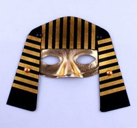ancient egyptian accessories - ancient egyptian pharaoh MASK for adults masquerade masks halloween cosplay mask