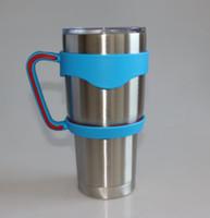 Wholesale New Arrival Portable Plastic Hand handle Holder Mugs Portable Hand Holder For YETI Rambler Tumbler OZ Factory Price