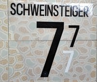 Wholesale Germany home SCHWEINSTEIGER name numbering nameset soccer patch soccer badge