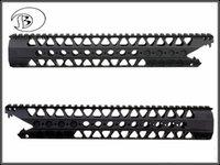 aluminum railing kits - 13 inch KeyMod VIPER series Free Float Rifle Style Handguard Rail Mount CNC Aluminum Rail Kit A B type For GBB AEG