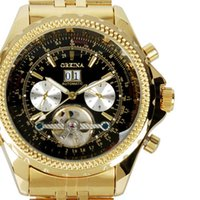 cheap luxury big face watches men shipping luxury big face cheap watches men stainless steel luxury brand gold automatic tourbillon watch men s big face automatic wristwatches