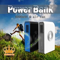 batterie externe portable - 100 New Eastshine Mini Power Bank Fan Portable Charger Powerbank Mah External Battery Pack With Fan Batterie Externe