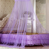 Wholesale Elegant Round Lace Insect Bed Canopy Curtain Dome Mosquito Net