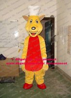 bakers shoes - Happy Yellow Cook Rat Chef Mouse Kitchener Mice Baker Mascot Costume Cartoon Character Mascotte White Gloves Red Shoes No