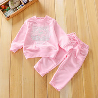 baby pants designer clothing - Baby Girl New Spring Baby Boy Clothes Tiger Embroidery Sets Sweatshirt pants For Boys Autumn Toddler Designer Kids