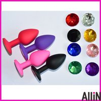 Wholesale silicone small size S butt plug butt anal bead sex toys for adults