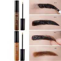 Wholesale High Quality Etude House Tint My Brows Enhancers Gel Korea Costmetics Peel Off Type Eyebrow Enhancers Color Fashion Makeup DHL
