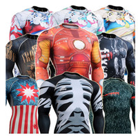 Wholesale Brand Martial Arts shirts Top male T Shirt MMA Cage Fighting Tees spandex T Shirt Training Top long Sleeve O Neck plus size